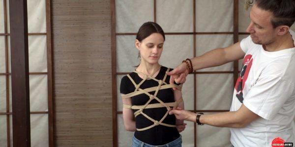 схема красивой грудной обвязки